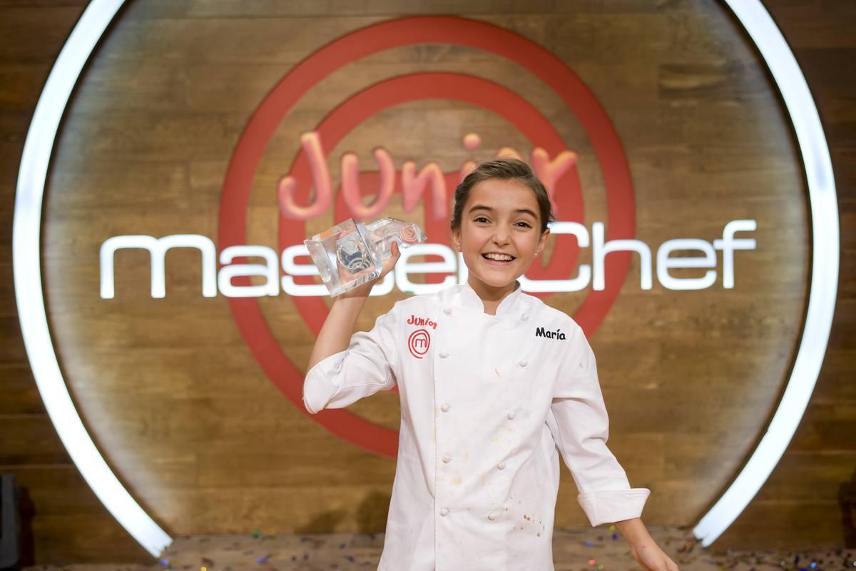 El título de MasterChef Junior España y 12.000 euros de premio