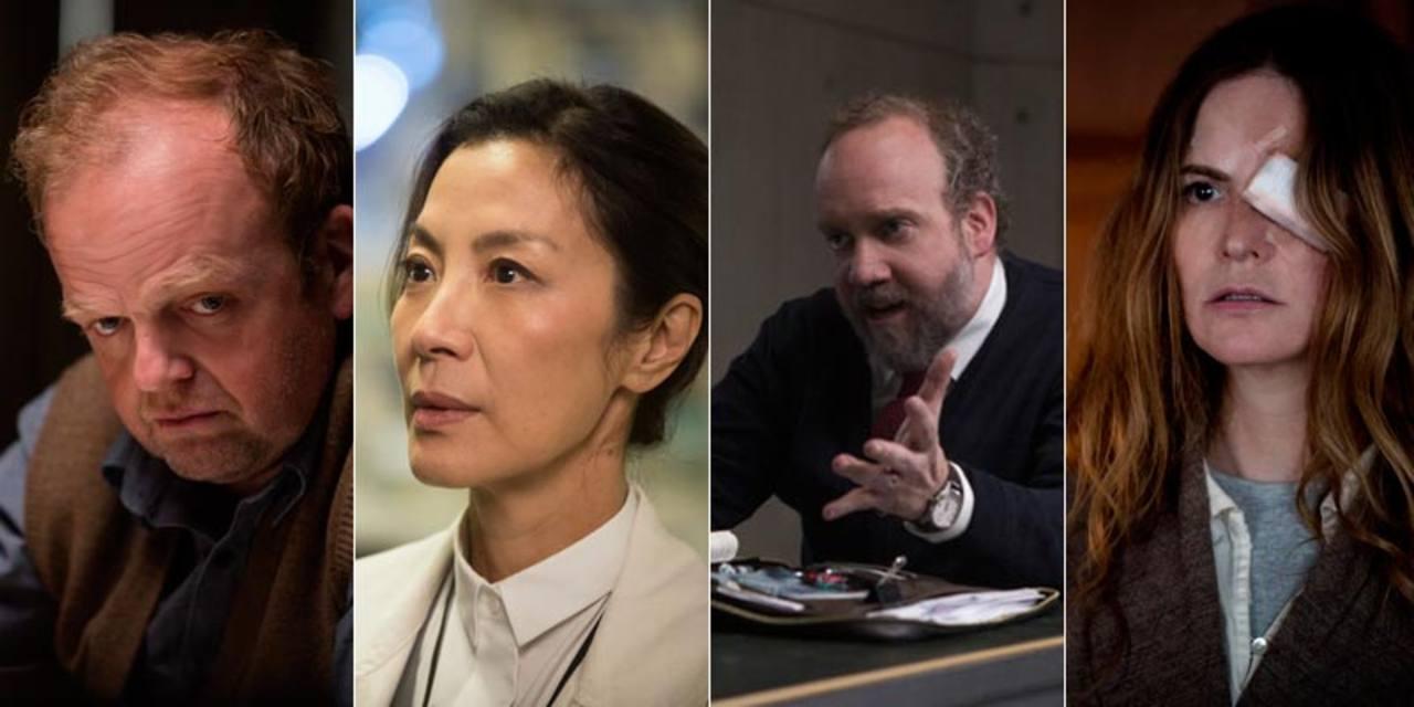 Toby Jones, MIchelle Yeoh, Paul Giamatti y Jennifer Jason Leigh completan el estupendo reparto de la película