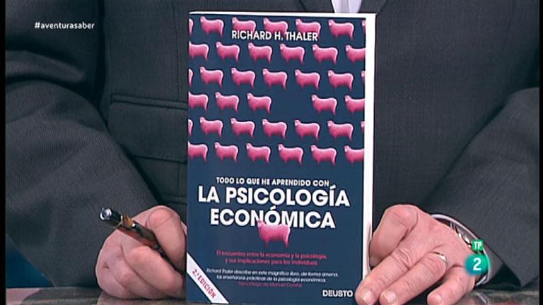 La Aventura del Saber. TVE. Libros recomendados. 'Todo lo que he aprendido con la psicología económica'
