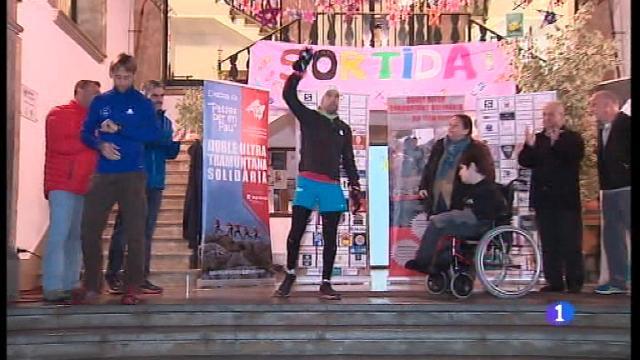 Tòfol Castanyer correrà 190 quilòmetres per en Pau