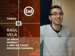 Españoles en el mundo - Tokio - Raúl