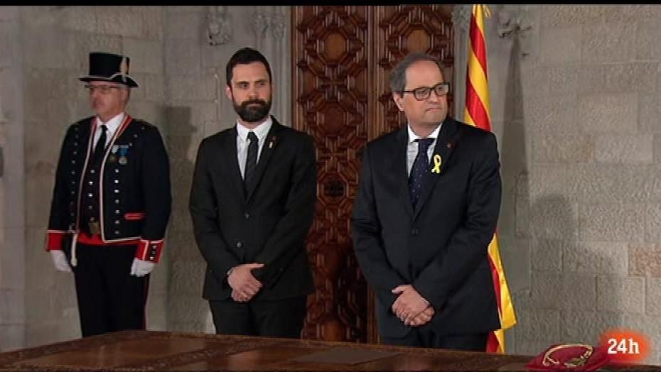Parlamento - El foco parlamentario - Toma de posesión de Torra - 19/05/2018