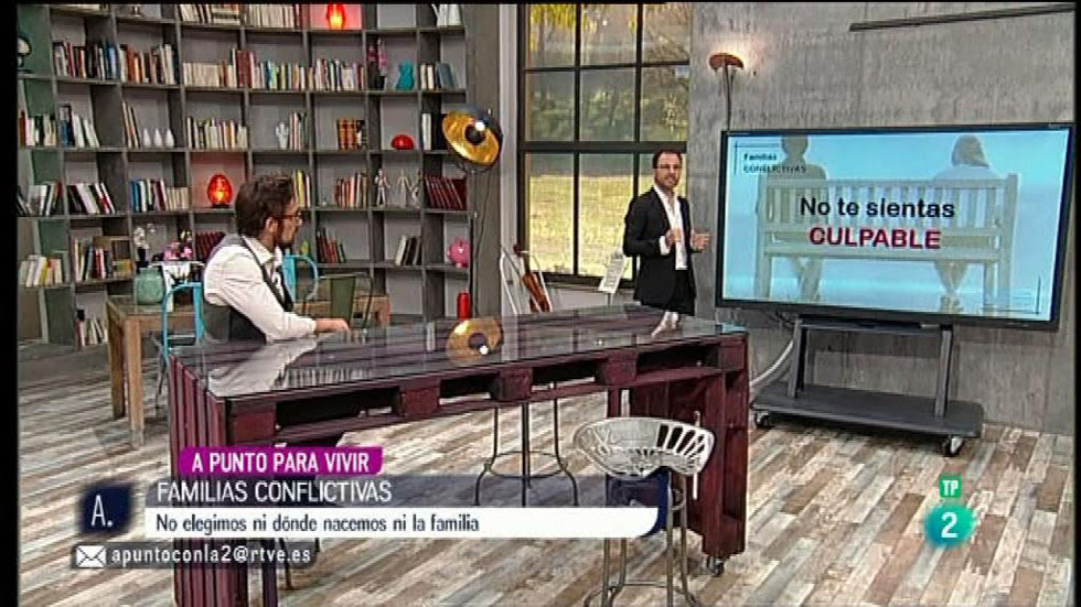 A punto con La 2 - A punto para vivir - Tomás Navarro - Los conflictos de família