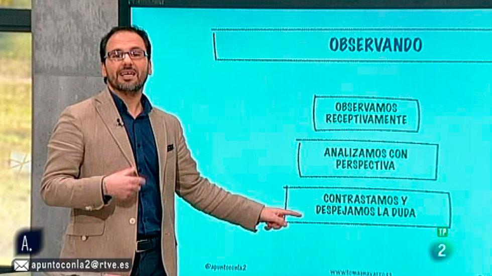 A punto con La 2 - A punto para vivir - Tomás Navarro: observar sin precipitarnos