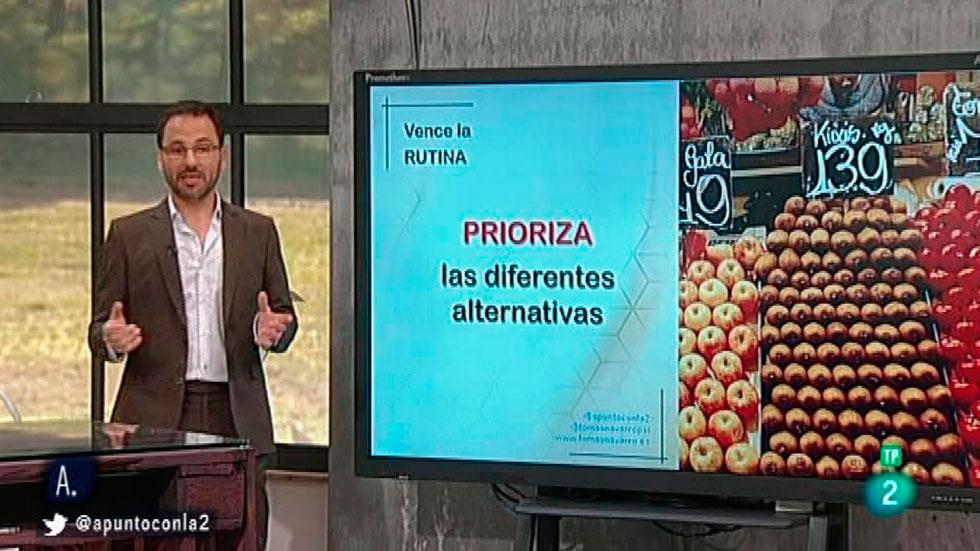 A punto con La 2 - A punto para vivir -  Tomás Navarro - ¿Sabemos tomar decisiones?