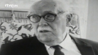 Tomás Navarro Tomás en 'El sillón letra h minúscula' (1975)