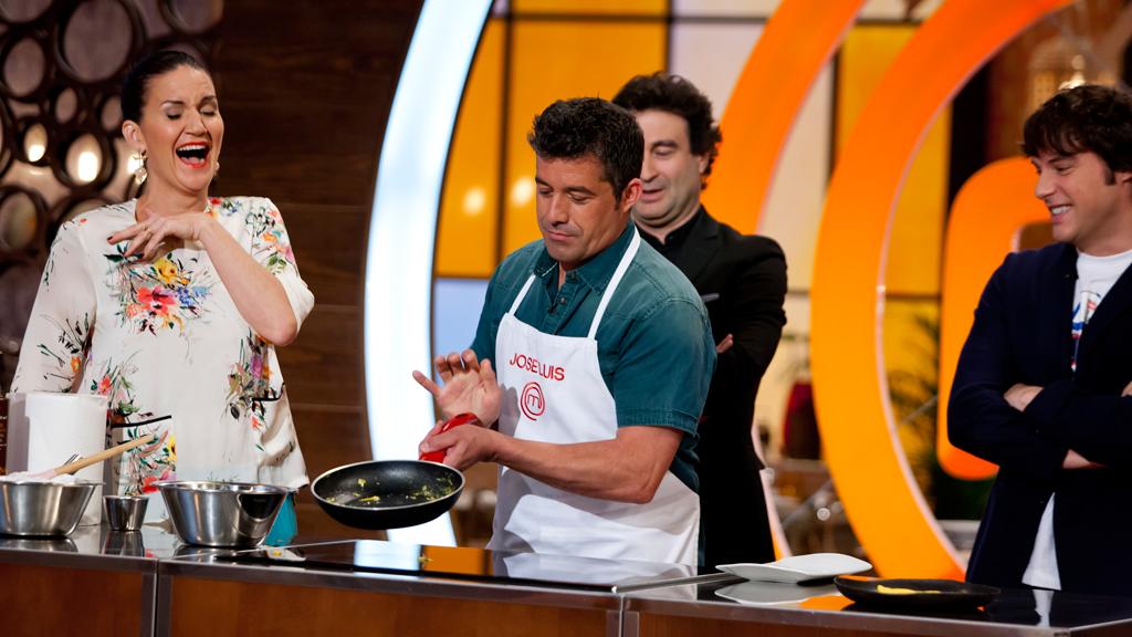 MasterChef 4 - El toque de José Luis para la tortilla francesa