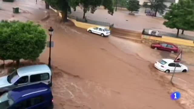 Una tormenta descarga 100 litros por metro cuadrado en cuatro horas en Socovos, en Albacete