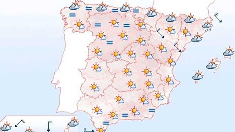 Tormentas en el Cantábrico, Castilla y León, alto Ebro y Pirineos
