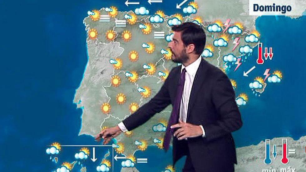 Tormentas en Cataluña y Pirineos y poco nuboso en el resto de España