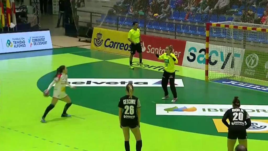 Balonmano - Torneo Internacional Femenino 2018: España - Alemania