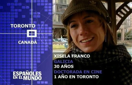 Españoles en el mundo - Toronto - Xisela