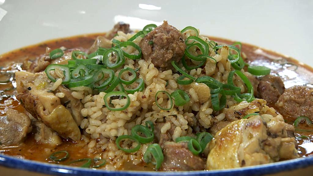 Torres en la cocina arroz jambalaya - Television en la cocina ...
