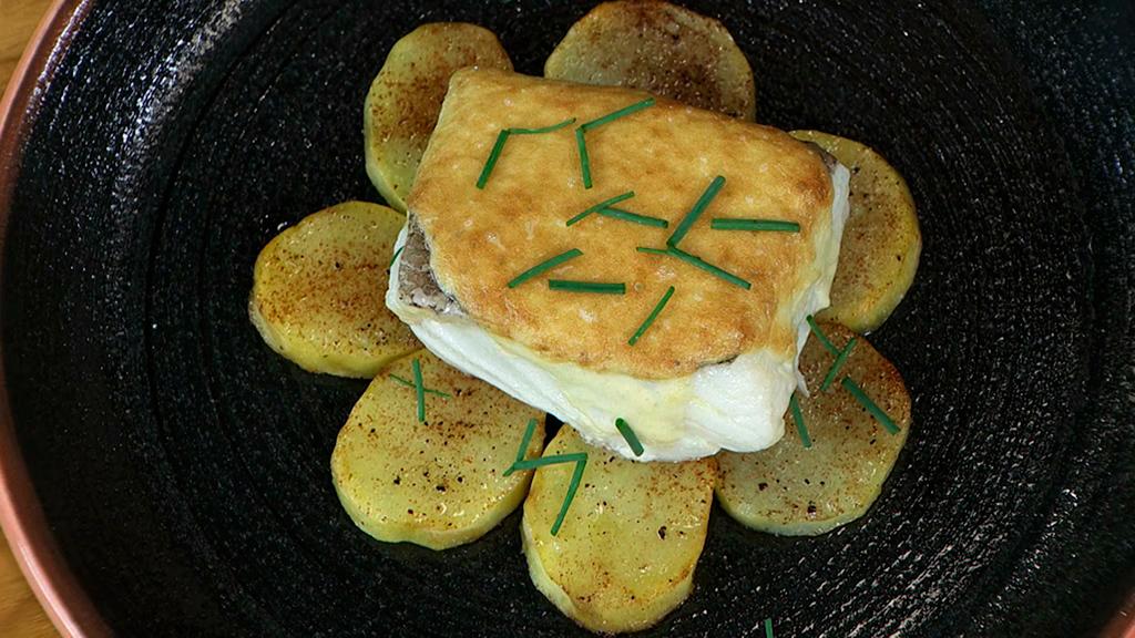 Bacalao gratinado con patatas for Cocina bacalao con patatas