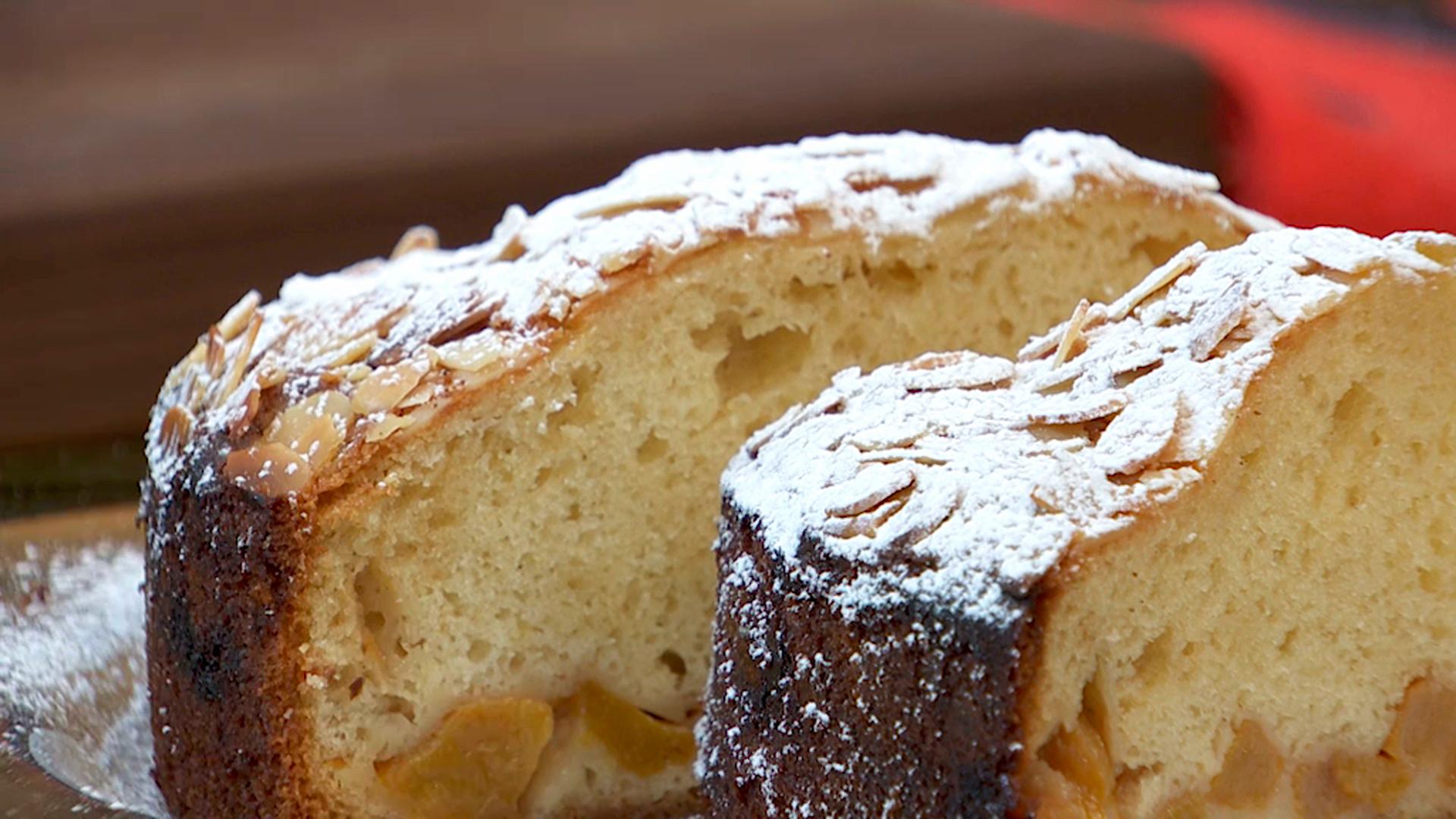 Receta de bizcocho de queso con melocot n for Cocina de pedro y yolanda