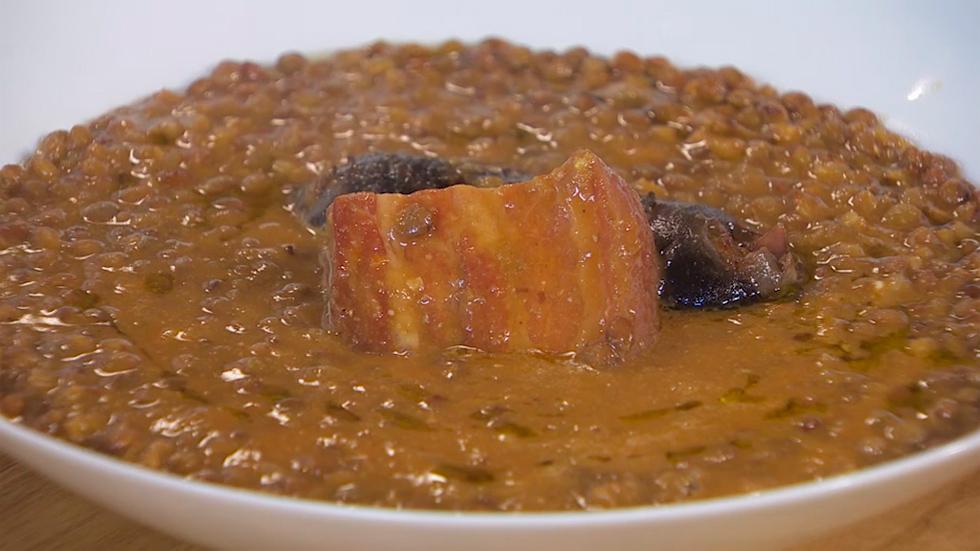 Receta de lentejas for Cocina hermanos torres