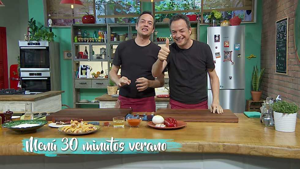 Torres en la cocina men de 30 minutos de verano for Cocinar en 30 minutos
