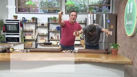 Torres en la cocina - Tortellini de setas con rúcula
