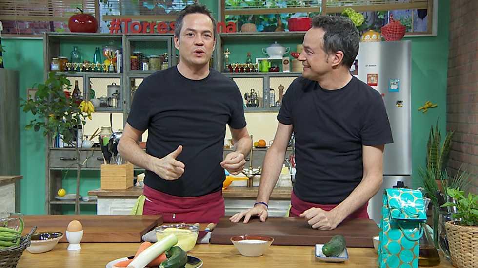 Torres en la cocina - Tortillas vegetales y marmitako