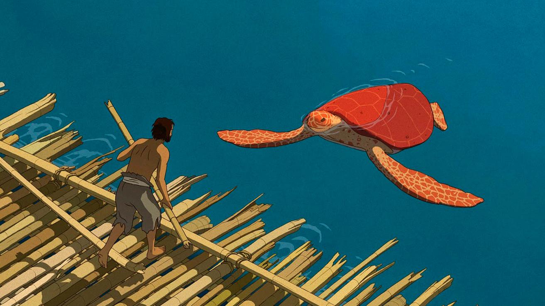 'La tortuga roja'