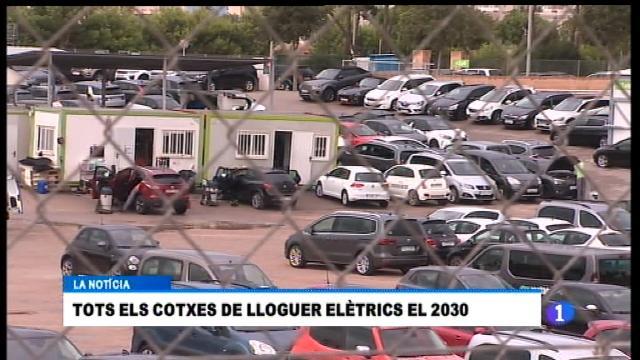Tots els cotxes de lloguer hauran de ser elèctrics el 2030