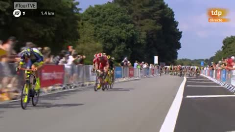 Tour 2018 | Gaviria repite triunfo al 'sprint'