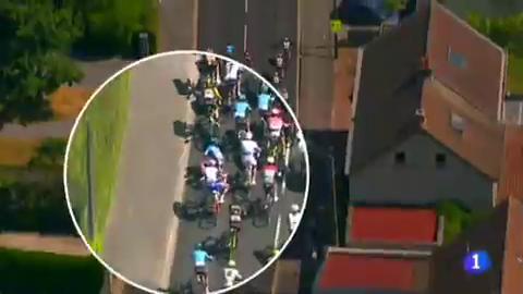 Tour 2018   Landa y Movistar dan por buena la novena etapa pese a la caída