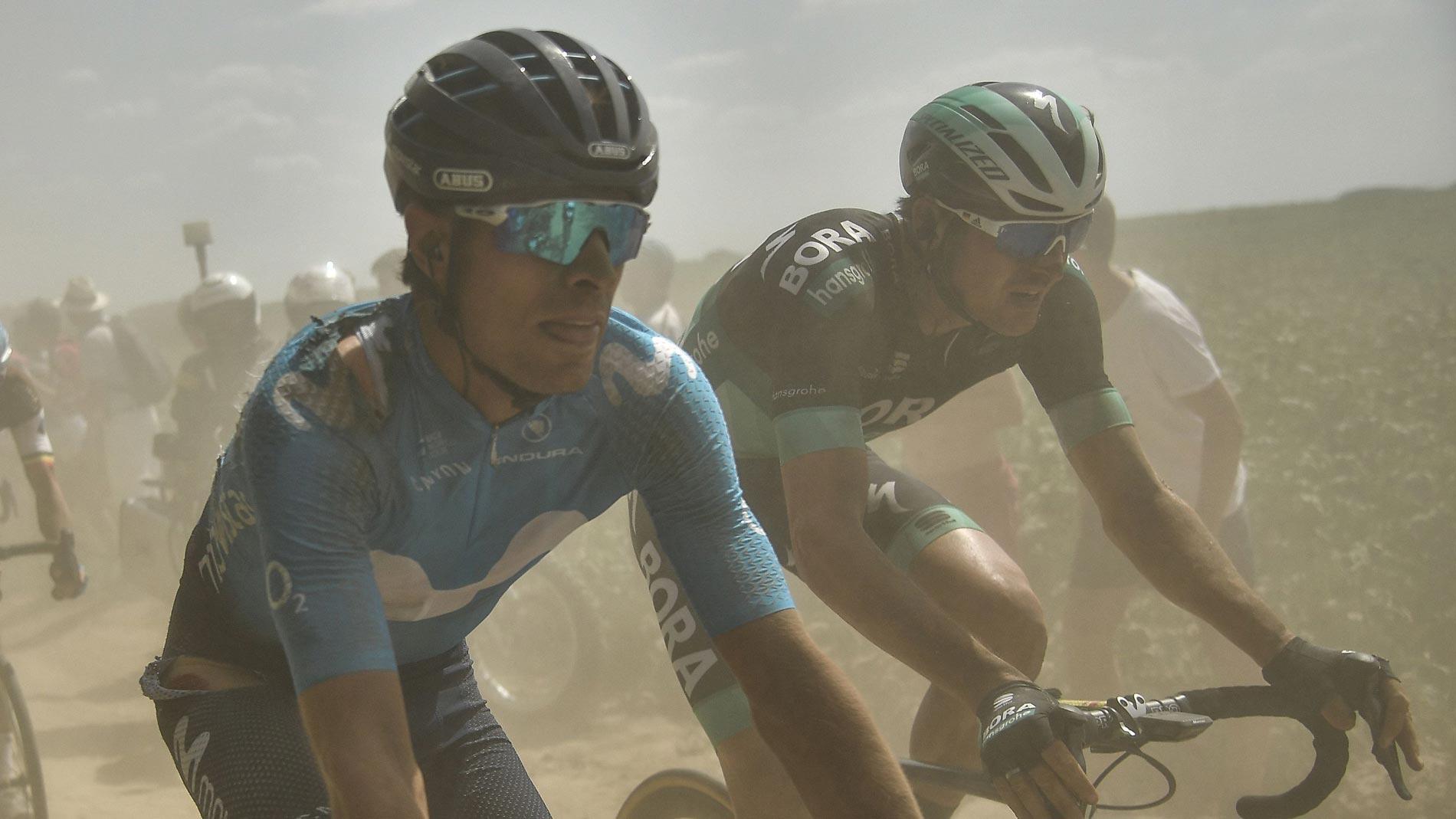 Tour 2018 | Landa y Movistar dan por buena la novena etapa pese a la caída