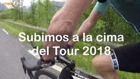 Tour 2018 | RTVE.es en el Col du Portet, el nuevo coloso del Tour