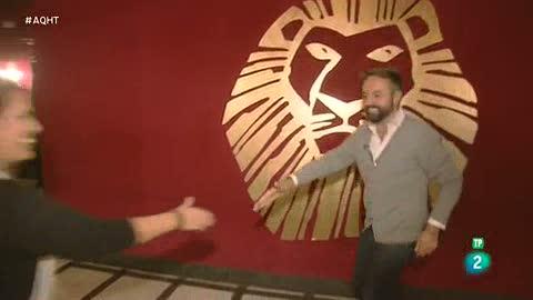 Los trabajadores que levantan un musical: El Rey León