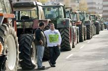 TRACTORADAS Y CONCENTRACIONES SIN INCIDENTES EN PRIMER DÍA DE PARO AGRARIO
