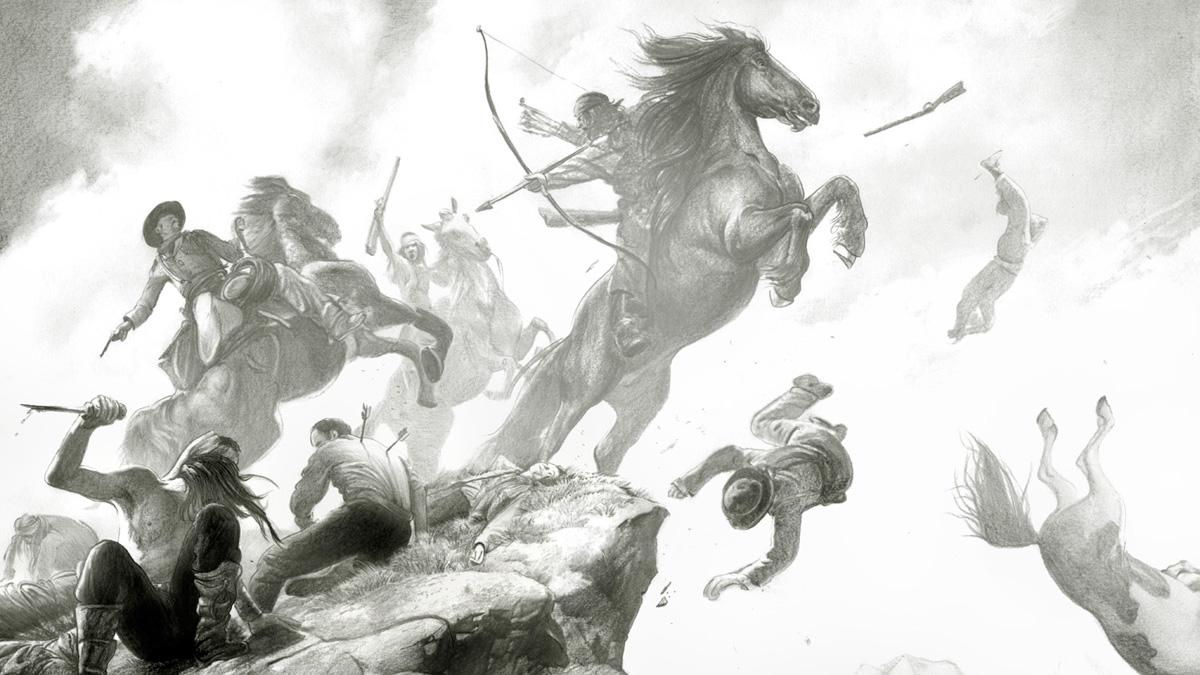 Tráiler de 'Indeh. Una historia apache', de Ethan Hawke y Greg Ruth