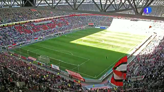 Düsseldorf Arena: la transformación de estadio a escenario de Eurovisión