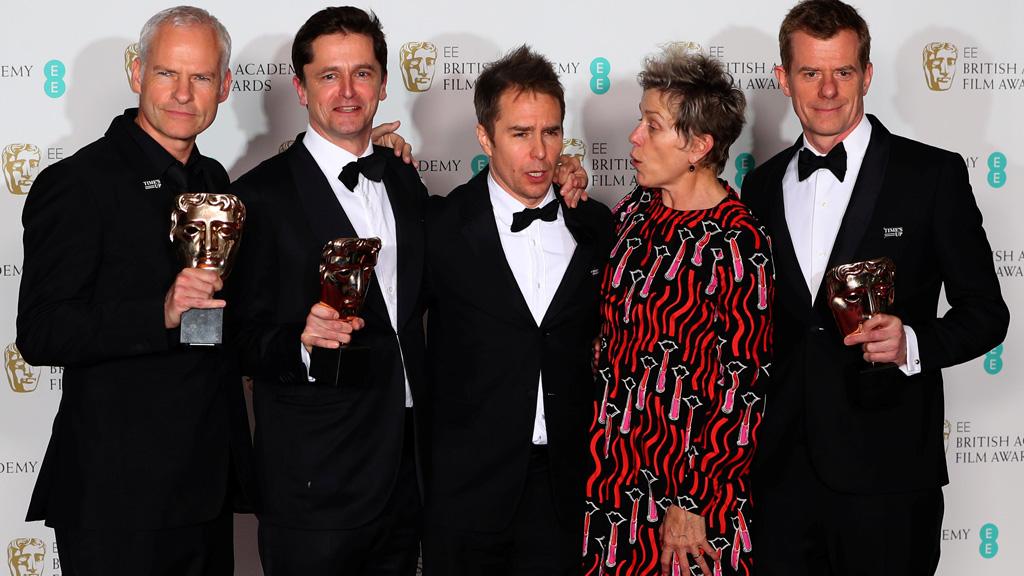 'Tres anuncios en las afueras' se lleva los Bafta a mejor película y a mejor película británica