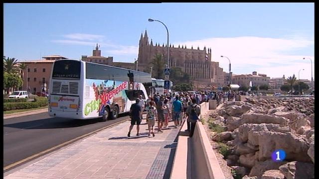 Tres noves parades per descongestionar Palma de creueristes