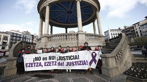 El tribunal autoriza el visionado de la grabación de uno de los acusados de la violación en los Sanfermines 2016