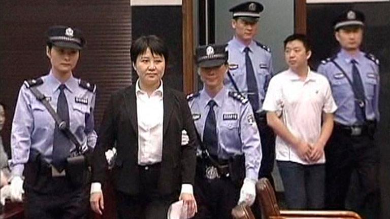 Un tribunal condena a esposa de Bo Xilai a pena de muerte suspendida