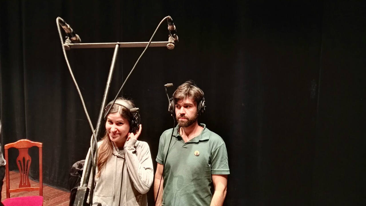 'Lo tuyo y lo mío', Manuel Ramos y Diana Roig