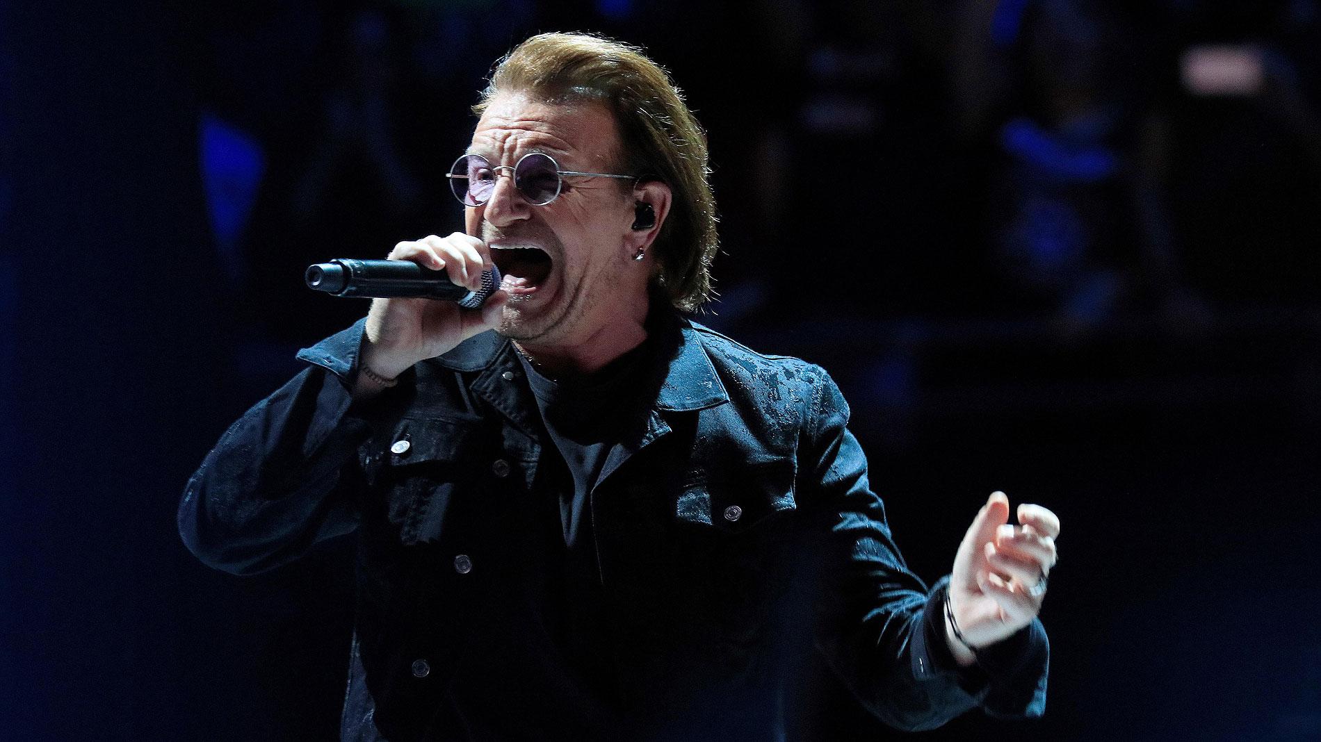 U2 regresa a Madrid con un concierto lleno de luz y color