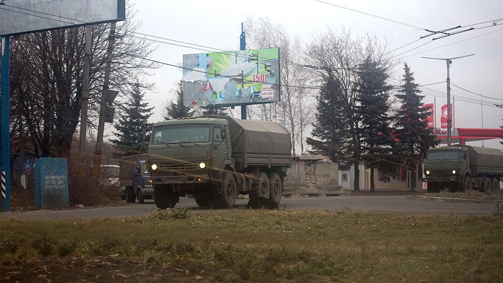 Ucrania protesta ante Rusia por una nueva entrada de camiones militares rusos en Donetsk