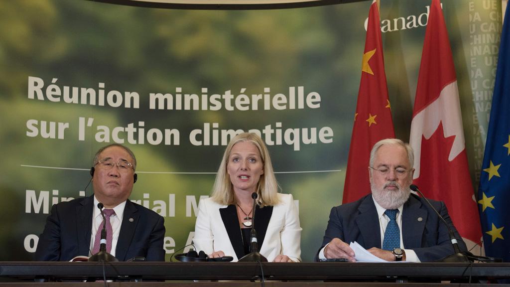 La UE reitera en Montreal su compromiso con el Acuerdo climático de París