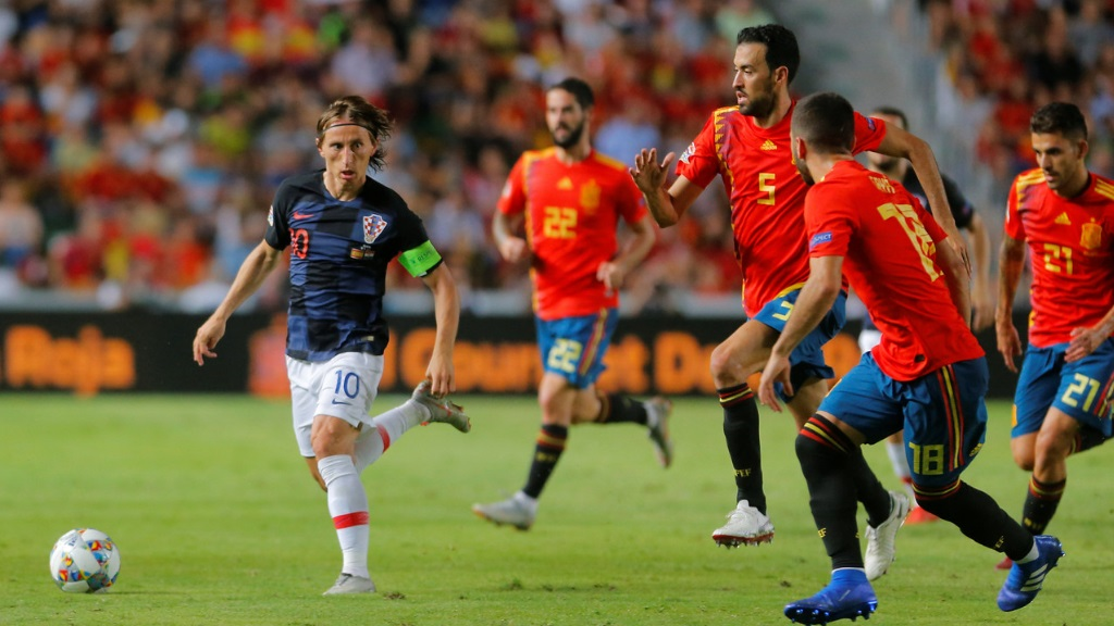Fútbol - UEFA Nations League:España - Croacia