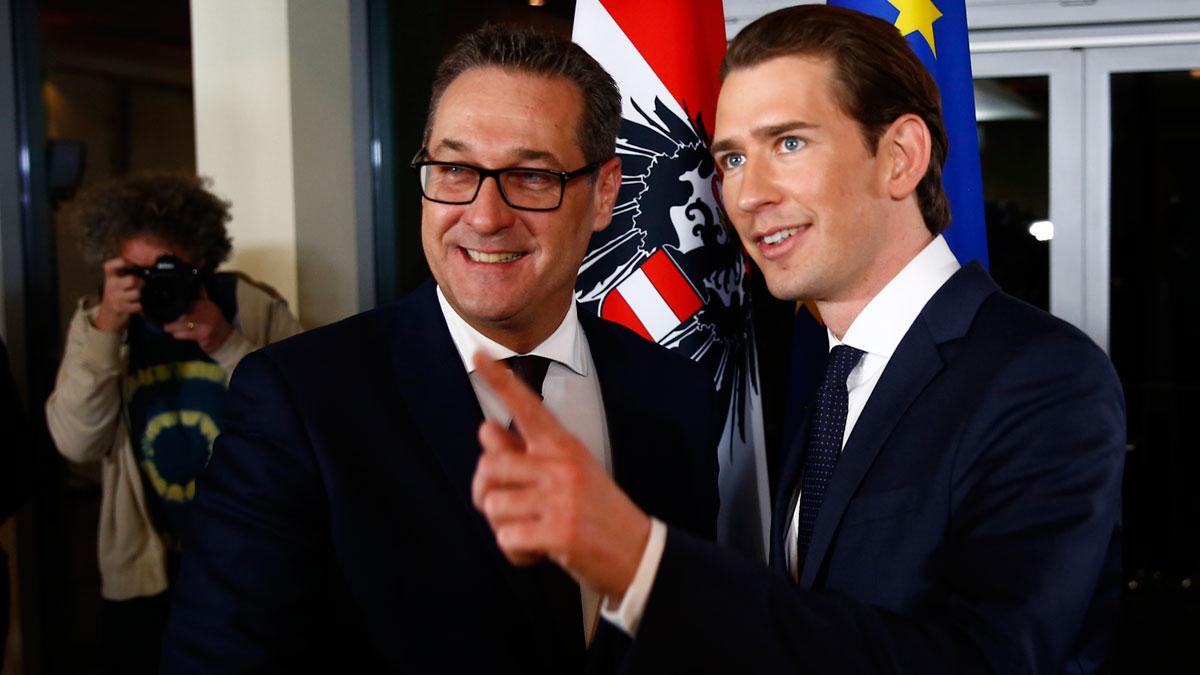 La ultraderecha austríaca renuncia a un referéndum de salida de la Unión Europea