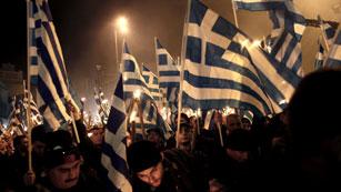 Ultranacionalistas griegos piden un país sin inmigrantes