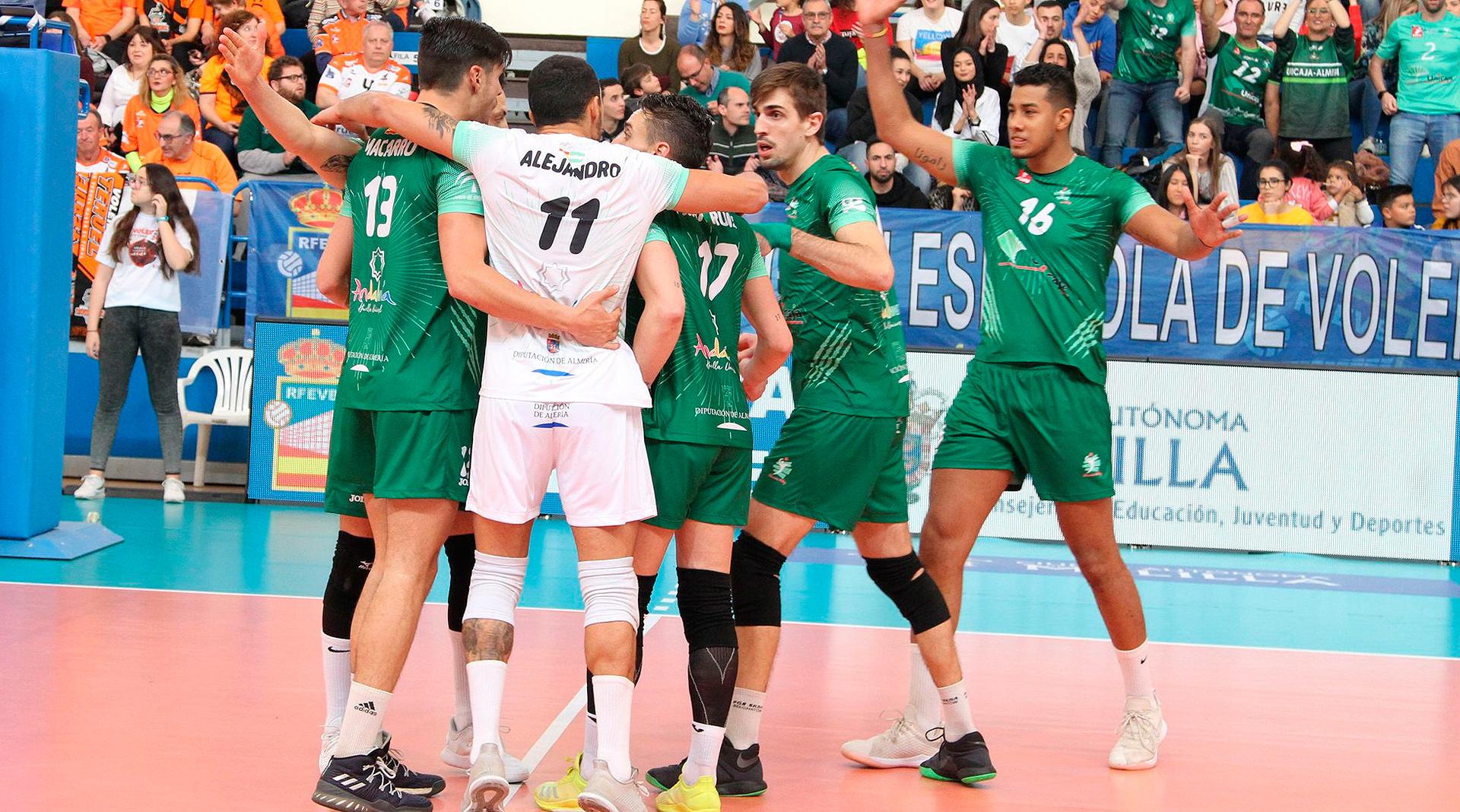 El Unicaja Almería gana la Copa del Rey de voleibol