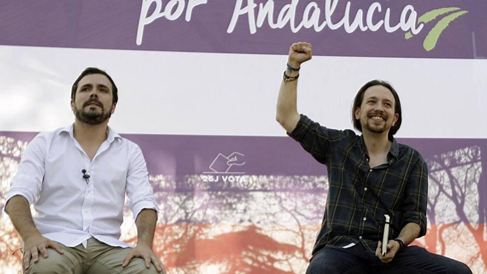 Unidos Podemos da su quinto mitin de campaña en Andalucía