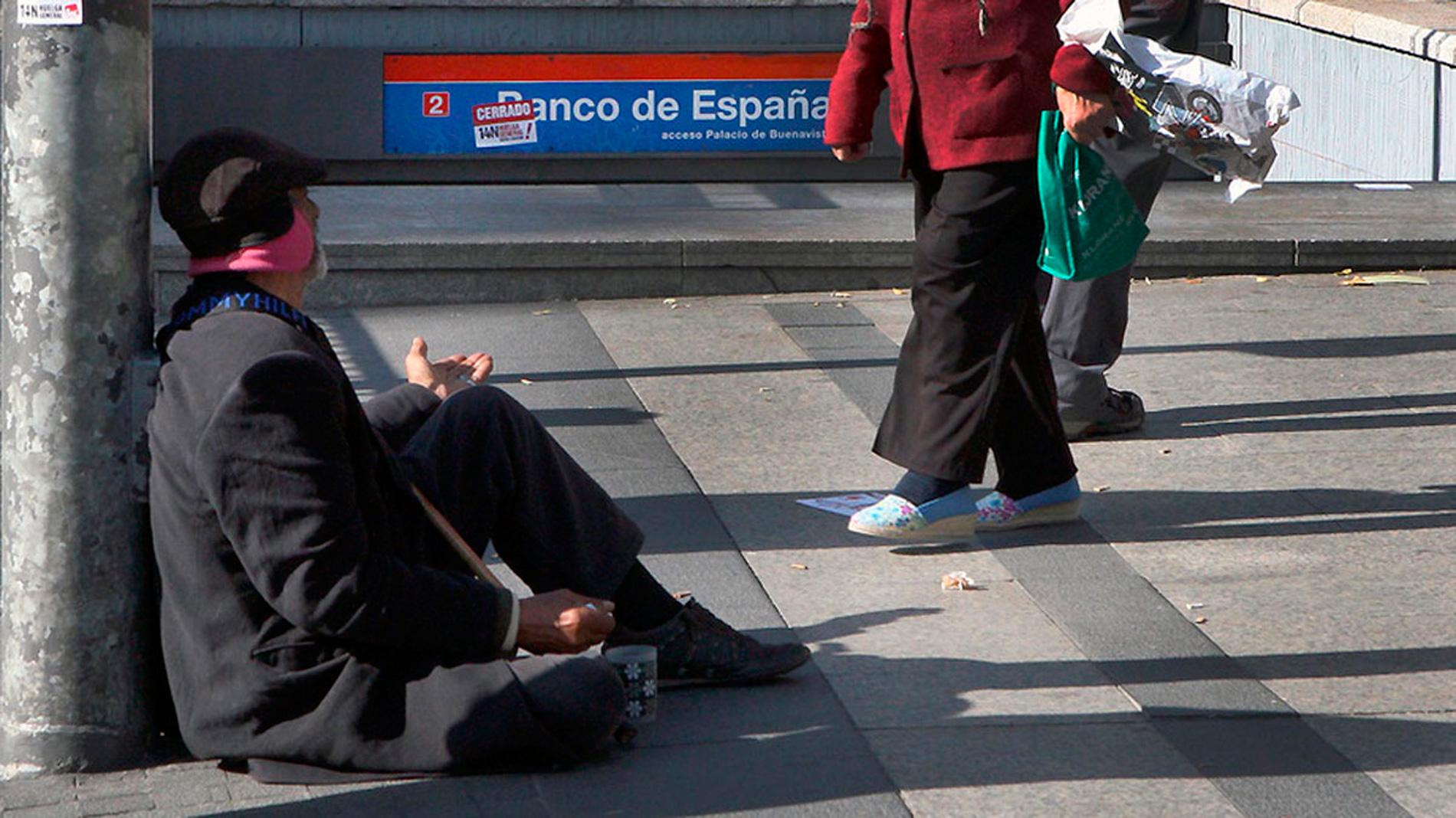 Uno de cada cinco españoles vive en riesgo de pobreza