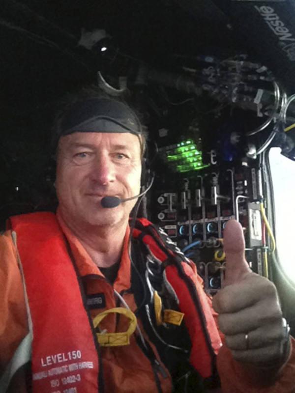Uno de los pilotos del Solar Impulse II, Andre Borschberg.