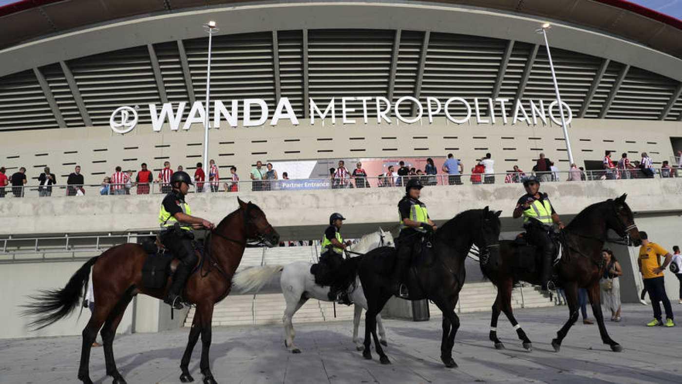 Unos 1.300 efectivos velarán por la seguridad en el Atlético - Lokomotiv