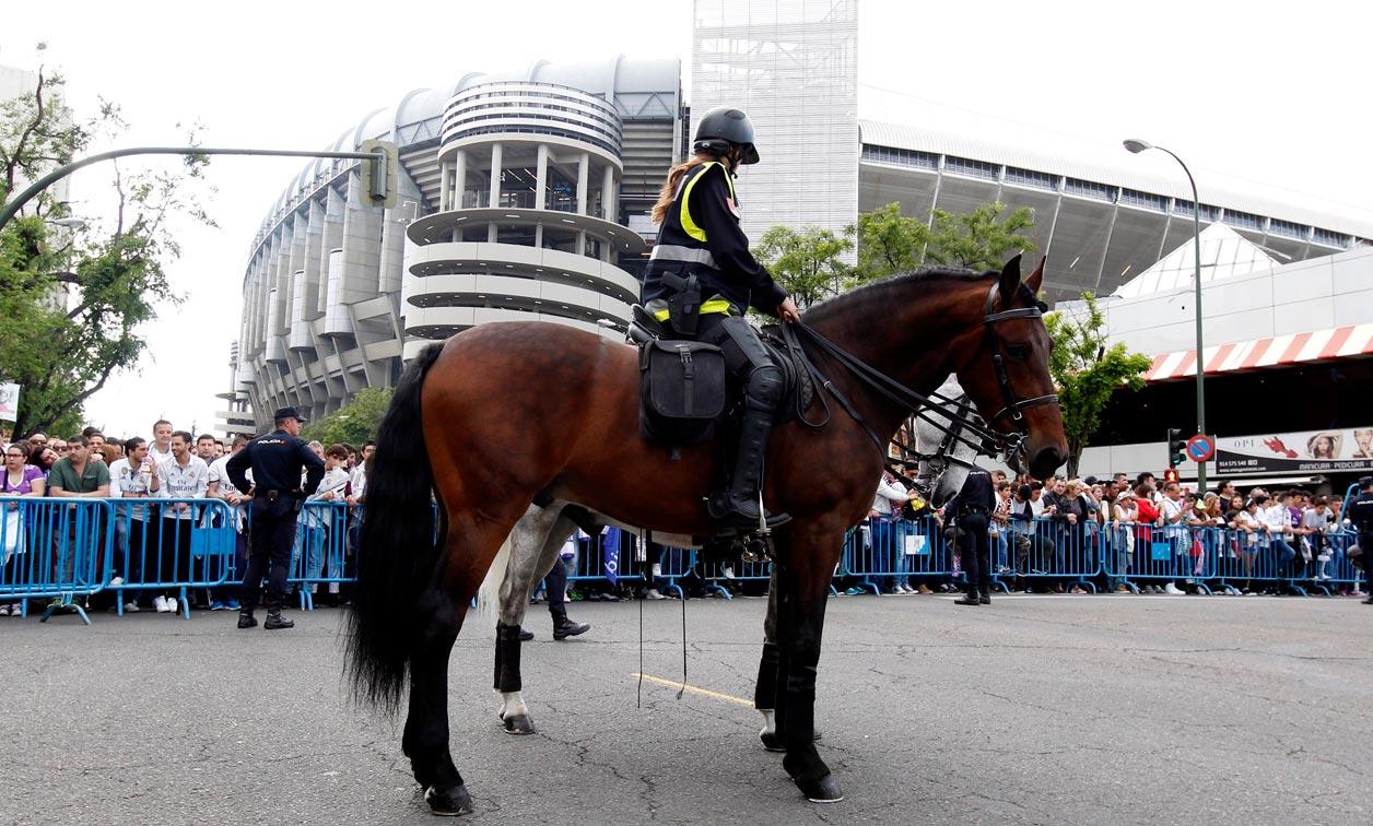 Unos 4.000 efectivos velarán por la seguridad del partido River-Boca en Madrid